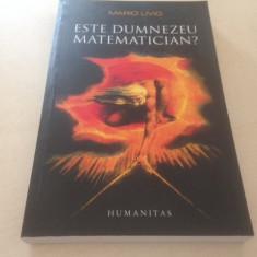 MARIO LIVIO, ESTE DUMNEZEU MATEMATIAN? - Carte Matematica