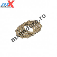 MXE Placute Ambreiaj Textolit KTM SX/EXC 250, 02-06 Cod Produs: FP522-7 - Manete Ambreiaj Moto