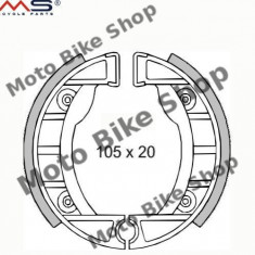 MBS Set saboti frana Aprilia/Piaggio Si, Cod Produs: 225120200RM - Saboti frana Moto