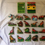 Set complet de magneti cu dinozauri serie completa - Jucarie de colectie