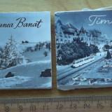 2x leporello Regiunea Banat + Timisoara 10 vederi mici
