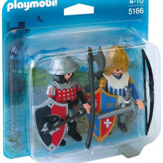 Set 2 Figurine - Cavaleri Playmobil
