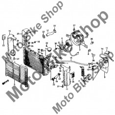 MBS Guma radiator 1984 Honda MAGNA (VF700C), Cod Produs: 19113MB1870HO - Radiator racire Moto