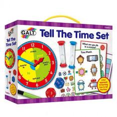 Set Invata sa Citesti Ceasul - Jocuri Logica si inteligenta Galt