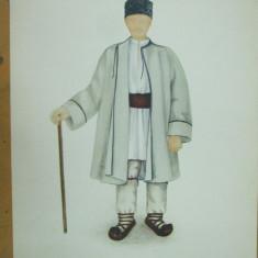 Lunca Cernei Hunedoara Transilvania batran costum popular suman caciula opinci
