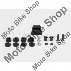 MBS Kit adaptor negru Givi Monokey pentru STEEL-RACK., Cod Produs: GPT0015220400BSW - Top case - cutii Moto