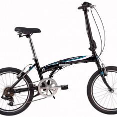 Bicicleta Pliabila DHS Folding 2095 (2017) Negru-AlbastruPB Cod:217209563