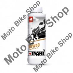 MBS Ulei moto 4T Ipone 10.4 (10W40) Sintetic - JASO MA2 - API SL, 1000L, Cod Produs: 800059IP - Ulei motor Moto