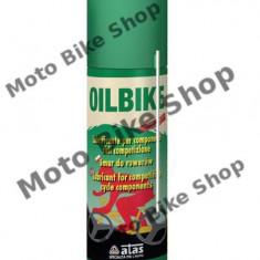 MBS Spray de uns lant Oilbike pentru motociclete/biciclete 200ml, Cod Produs: 001290 - Sprayuri lant - pana Moto
