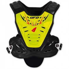MXE Protectie corp (carapace) copii, Ufo Valkyrie Evo, galben, scurta Cod Produs: PT02360DX - Protectii moto