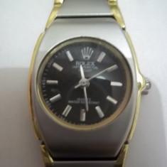 Ceas dama ROLEX nou, Elegant, Quartz, Inox, 2000 - prezent