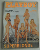 "PLAYBOY APRILIE  2001 - Pictorial '' SUPERBLONDE ""+ SUPLIMENT"
