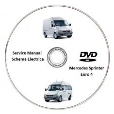 Mercedes Sprinter Euro 4 Service Manual + Schema Electrica - Manual auto