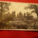 Ilustrata Bucuresti - Gradina Cismigiu, Restaurant Monte Carlo I constr. 1937 - Carte Postala Muntenia dupa 1918, Circulata, Fotografie