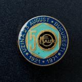 Insigna Uzina faur 23 august 50 de ani