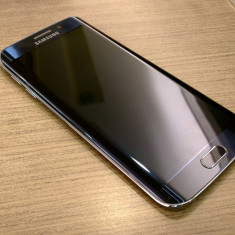 Samsung S6 EDGE Sapphire Blue/Albastru Safir, 32 Gb, 3 Gb Ram, Octa-Core - Telefon Samsung, Negru, Neblocat