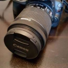DSLR  Canon Kiss X7 /100D obiectiv 18 -55 IS STM made in Japan