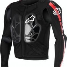MXE Geaca Protectie corp Alpinestars Bionic Pro culoare Negru/Alb/Rosu Cod Produs: 27020180PE - Protectii moto