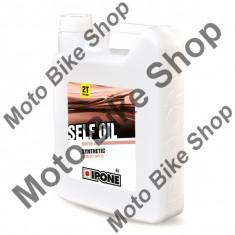 MBS Ulei moto 2T Ipone Self Oil Sintetic - JASO FC - API TC, 4L, Cod Produs: 800380IP - Ulei motor Moto
