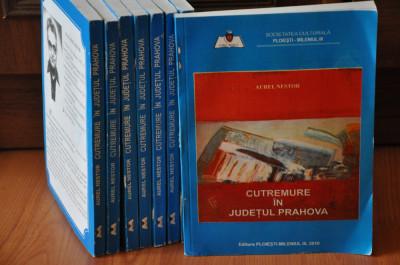 CUTREMURE ÎN JUDEŢUL PRAHOVA. Aurel Nestor, 2010. Carte veche cutremur foto