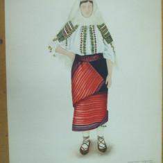Basarabia taranca costum popular ie fusta brodata opinci acoperamantul capului - Carte Arta populara