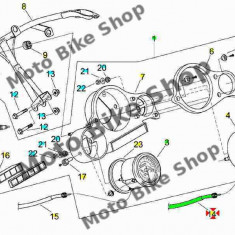 MBS Cablu turometru Aprilia RS '99-'05, Cod Produs: AP8214179PI - Cablu Turometru Moto