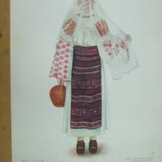 Gorj Oltenia costum popular taranca ulcior opinci ie fusta acoperamant cap