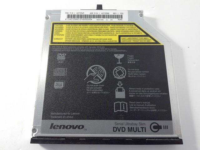 DVD Multirecorder SATA Lenovo T400 T500 W500 W700
