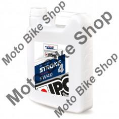 MBS Ulei moto 4T Ipone Stroke 4 5W40 100% Sintetic - JASO MA - API SL, 4L, Cod Produs: 800005IP - Ulei motor Moto