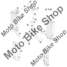 MBS Buson radiator 1, 8 BAR KTM 125 EXC 2010 #9, Cod Produs: 77335016000KT - Radiator racire Moto