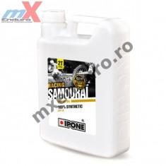 MXE Ulei moto 2T Ipone Samourai Racing 100% Sintetic ESTER - API TC, 4L Cod Produs: 800091IP - Husa moto