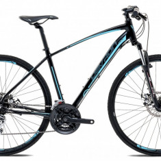"Bicicleta Devron Cross K2.8 M – 495/19.5"", Pure BlackPB Cod:217KM284863 - Bicicleta Cross"