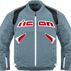 MXE Geaca moto textil Icon Sanctuary, gri Cod Produs: 28102420PE - Imbracaminte moto