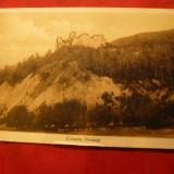 Ilustrata Cetatea Neamtului, interbelica, autor R.Morel - Carte Postala Moldova dupa 1918, Necirculata, Fotografie