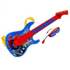 Chitara cu ochelari si microfon Spiderman - Instrumente muzicale copii Reig Musicales