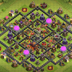 Vând cont Clash of clans Th 10