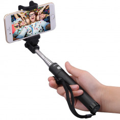 Selfiestick bluetooth, Mpow iSnap X, Black