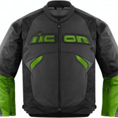 MXE Geaca moto textil Icon Sanctuary, verde Cod Produs: 28102415PE - Imbracaminte moto
