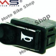 MBS Buton claxon negru Piaggio NRG/Gilera, Cod Produs: 246130020RM - Claxon Moto