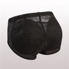 GS1007-1 Chilot modelator din dantela cu insertii din burete, pentru efect de lifting fesier - Lenjerie modelatoare dama, Marime: S, M, S/M