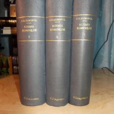 A.D. XENOPOL - ISTORIA ROMANILOR DIN DACIA TRAIANA * 12 VOL ( COMPLETA ) - 1896 - Carte de colectie