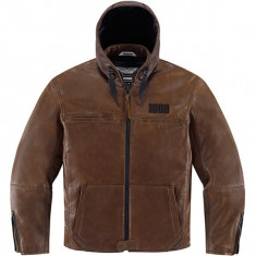 MXE Geaca moto textil, Icon 1000 The Hood, maro Cod Produs: 28102554PE - Imbracaminte moto