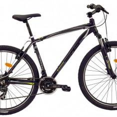 Bicicleta DHS Terrana 2723 (2016) Culoare Negru/Gri/Argintiu 495mmPB Cod:21627234969 - Mountain Bike