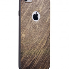 Carcasa Hoco, Element Series Wood Grain, pentru Apple Iphone 6 plus/6 s plus, Beechwood - Husa Telefon