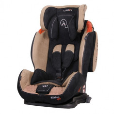 Scaun Auto Sportivo cu Isofix 9-36 kg Bej - Scaun auto copii grupa 1-2-3 (9-36 kg) Coletto, 1-2-3 (9-36 kg)