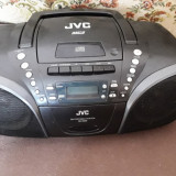 RADIO/ CD /CASETOFON  JVC MODEL RC-EZ55B , MP3 , DEFECT .