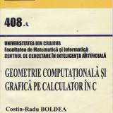 Geometrie computationala si grafica pe calculator in C, autor Costin-Radu Boldea, Alta editura