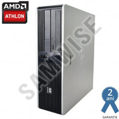 Calculator AMD 64 X2 5600+ 2, 8GHz 4GB DDR2 Radeon 3100 80GB DVD GARANTIE 2 ANI ! - Sisteme desktop fara monitor HP, AMD Athlon II, 2501-3000Mhz, 40-99 GB, AM2