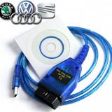 Tester diagnoza auto obd2 Vag Com 409.1 KKL VW Skoda Audi Seat USB-OBD II