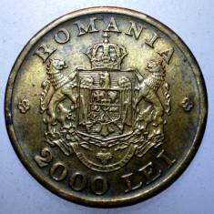 2.109 ROMANIA MIHAI I 2000 LEI 1946 EROARE Batere negativa pe A (ROMANIA) - Moneda Romania, Alama